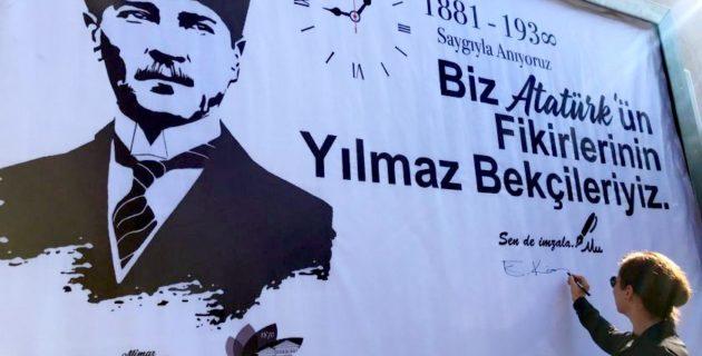 Atatürk, yurt dışındaki temsilciliklerde anıldı