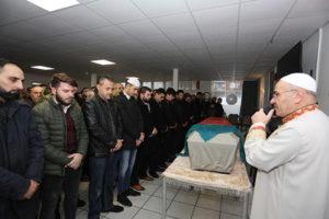 Eşi Tarafından Öldürülen Hafize Şimşek'in Cenaze Namazı Kılındı