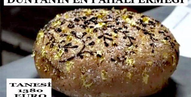 Dünyanın en pahalı ekmeği! Tanesi 1380 euro