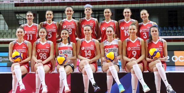 A Milli Kadın Voleybol Takımı, 3. maçına çıkıyor: Rakip Belçika