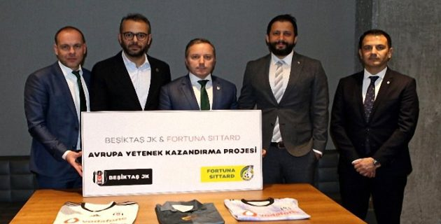 Beşiktaş, Hollanda'nın Fortuna Sittard Kulübü ile iş birliği anlaşması imzaladı
