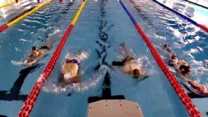 Hollandalı milli yüzücüler Erzurum'da
