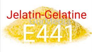 """Jelatinin zararları nelerdir """"Gelatine E-441"""""""