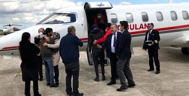 Ambulans uçakla Türkiye'ye götürülen lösemi hastası genç hayatını kaybetti