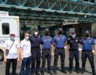 YTB, Türkiye'ye yola çıkan Türk vatandaşlarını Sırbistan'da karşılıyor