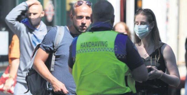 Hollanda'da Kovid-19 cezasına sabıka kaydı