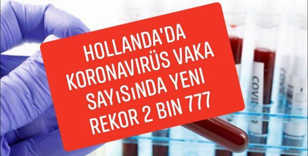 Hollanda'da Korona dan Son 24 saatte ölen kisi sayisi 16