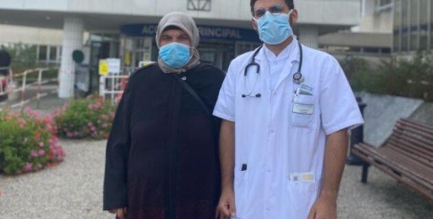 Erzurumlu Gurbetçi genç, inşaatında babasının çalıştığı hastanede doktor oldu