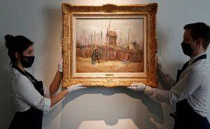 Van Gogh'un özel koleksiyondaki Montmartre resmi ilk defa görüntülendi