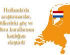 Hollanda'da araştırmacılar, ülkedeki göç ve iltica kurallarının katılığını eleştirdi