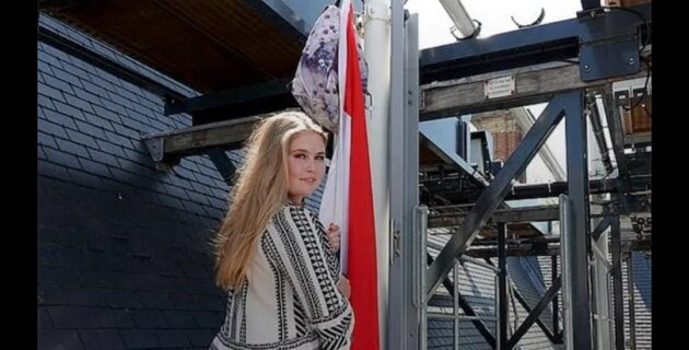 Amalia, yıllık olarak devletten alacağı 1,6 milyon euro'luk ödenekten vazgeçti