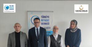 Türkiye Cumhuriyeti YTB Hollanda Beyazay Derneğimizi ziyaret etti.